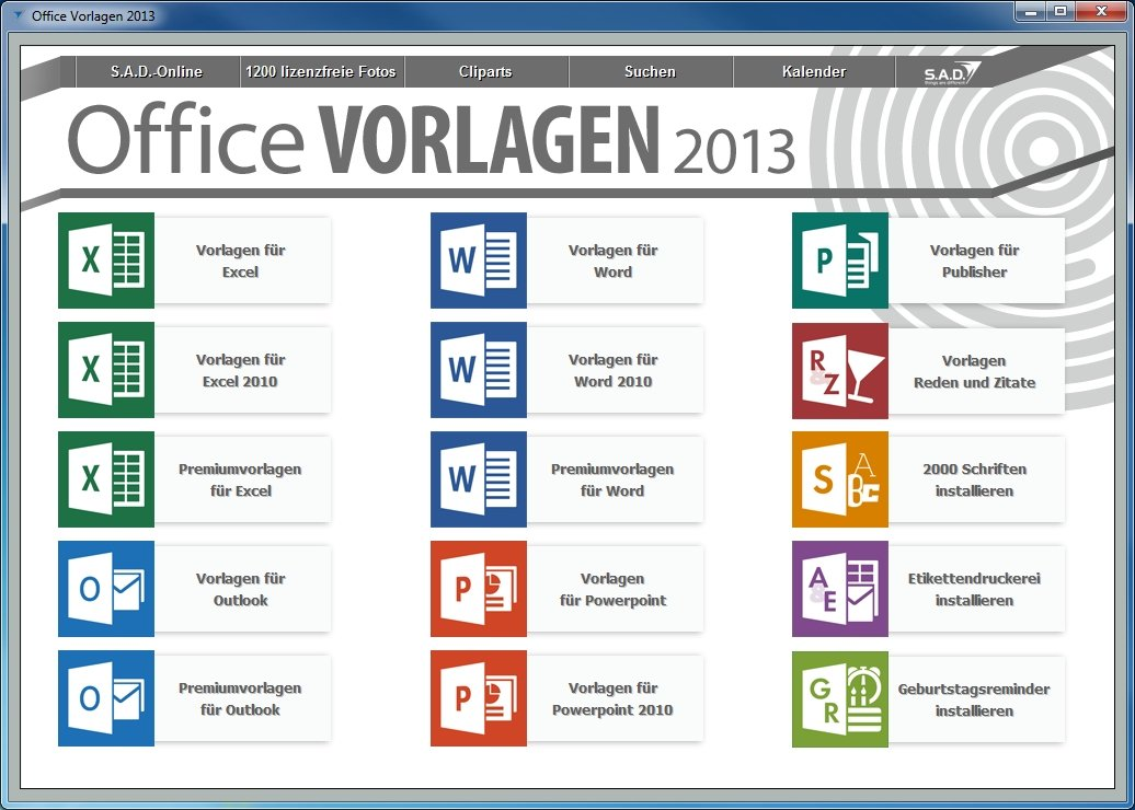 Office Vorlagen 2013: Amazon.de: Software