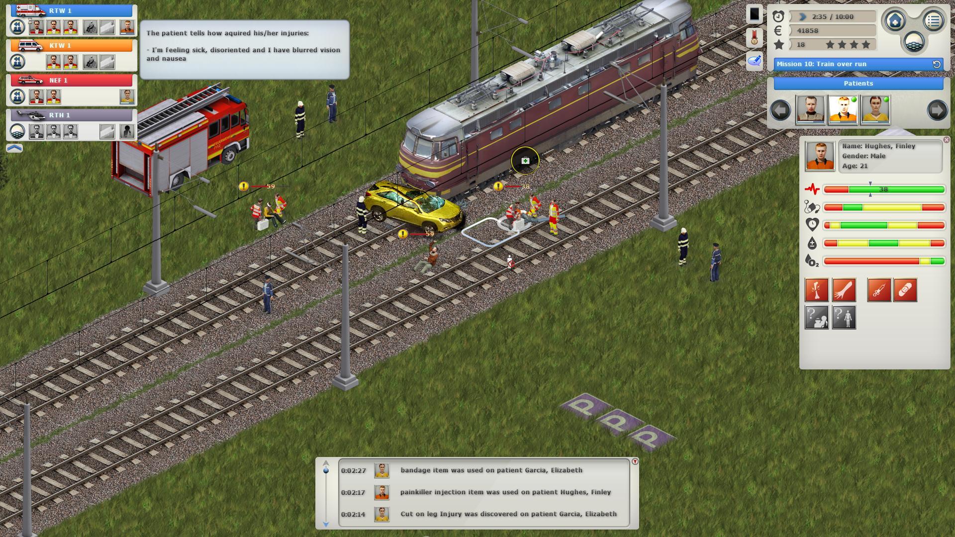 Rettungsdienst Spiele