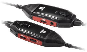 Stereo-Spiele-Headset TRITTON AX 180 - Separate integrierte Lautstärkeregelung für Spiele und Sprache