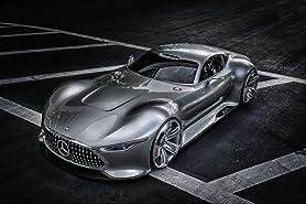 Mercedes-Benz SLS AMG Vision GT ist das erste Konzeptfahrzeug, das für GT6 entworfen wurde und sogar spielbar sein wird.