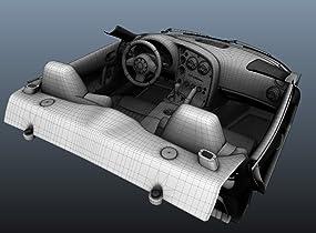 Bis ins kleinste Detail werden Interieur und Teile nachgebildet.