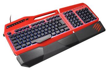 Mad Catz S.T.R.I.K.E. 3 Spieletastatur für PC – Schwarz