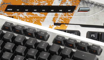 Mad Catz S.T.R.I.K.E. 3 Gaming Keyboard for PC - Conveniently Placed Shotcut Keys