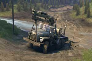 Spintires: Offroad-Truck-Simulator , Abbildung #04