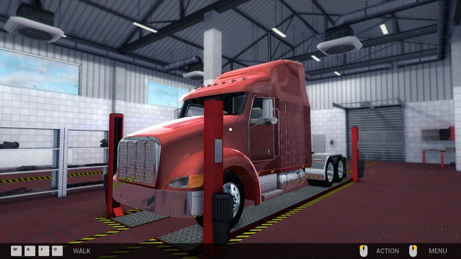 lkw werkstatt simulator 2015 pc pc spiel games. Black Bedroom Furniture Sets. Home Design Ideas
