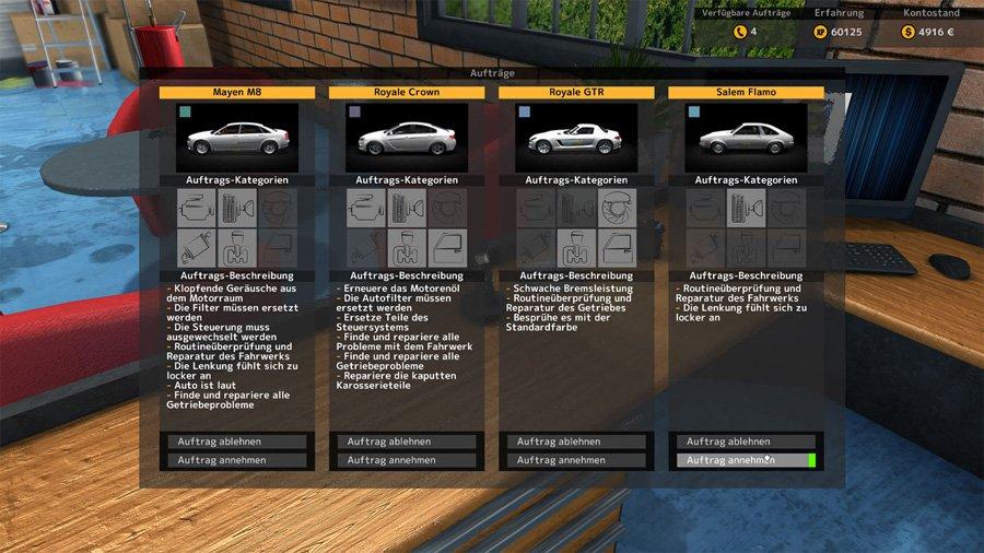 Auto-Werkstatt Simulator 2015 (PC): Amazon.de: Games