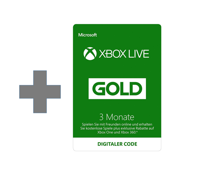 Xbox Live 3 Monate Gold