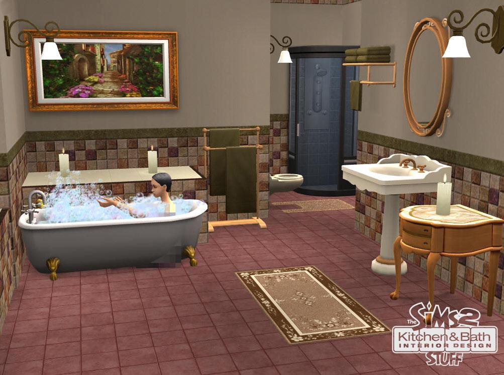 Die Sims 2 Küchen- und Bad-Einrichtungs-Accessoires (Add-On) [Origin ...
