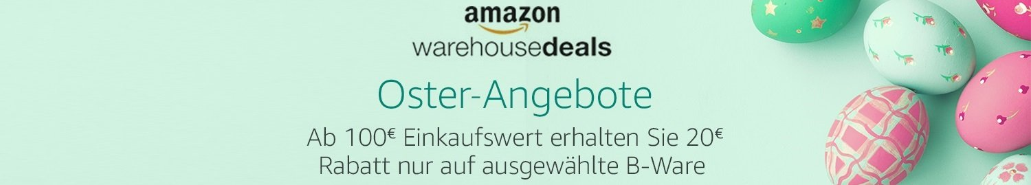 20 Euro Rabatt auf Amazon Warehouse Deals