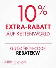 10% Extra-Rabatt auf Kettenworld