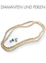 Diamanten und Perlen