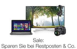 Sale: Reduzierte Überbestände, Restposten und Co.