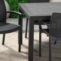 Amazon De Keter 17190205 Tisch Melody Table Rechteckig
