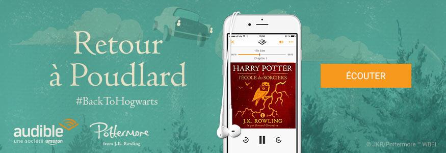 Livre audio Harry Potter à l'école des sorciers