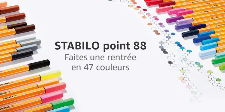STABILO point 88 Faites une rentrée en 47 couleurs