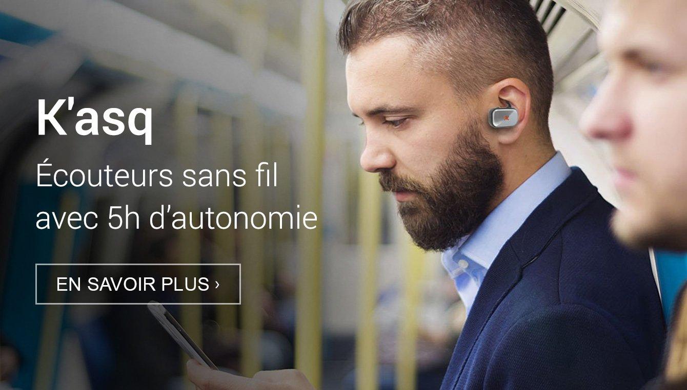 Amazon Launchpad: Kasq ecouteurs sans fil
