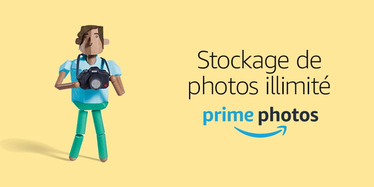 Stockage de photos illimite