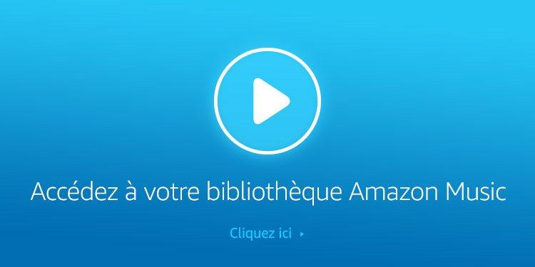 Accédez à votre bibliothèque Amazon Music (Lecteur Web)