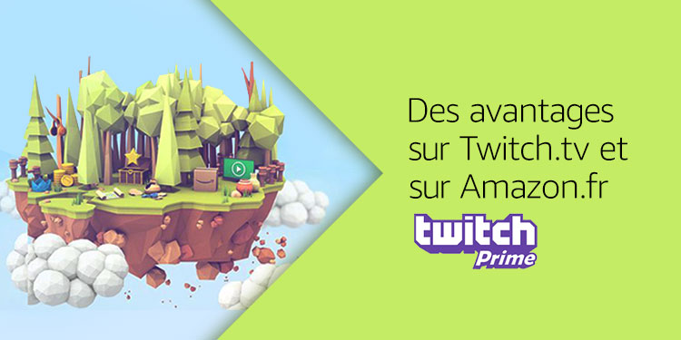 Twitch Prime avec Amazon Prime
