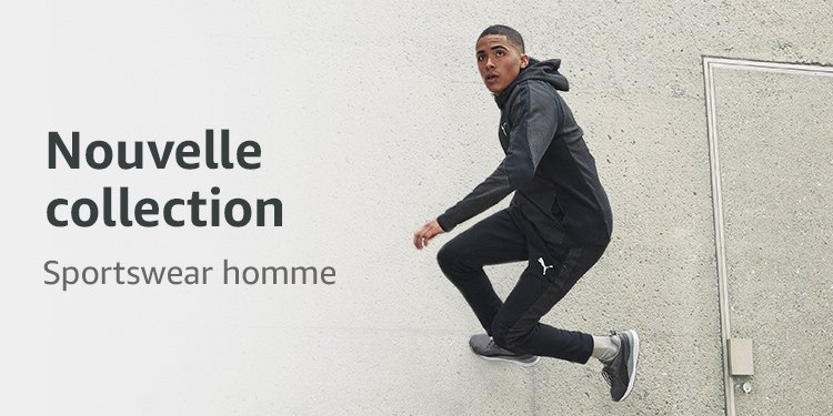 Nouvelle collection sportswear homme