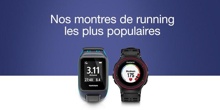 montres de running les plus populaires