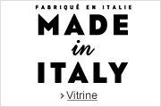 Decouvrir la vitrine -- Made in Italy