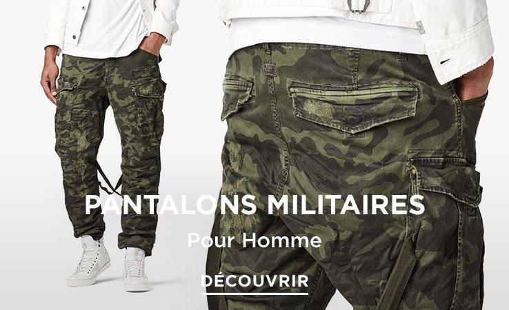 G-Star Pantalon Militaire Homme