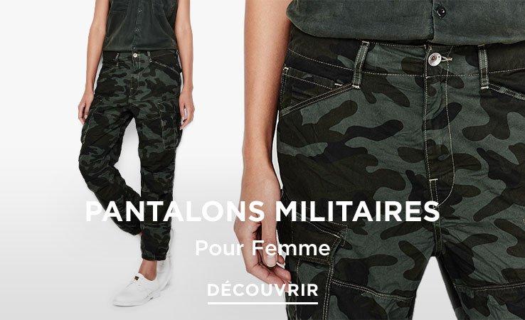 G-Star Pantalon Militaire Femme