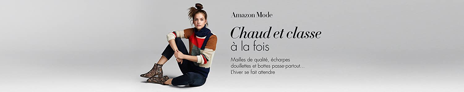 Amazon Fashion : Chaud et Classe à la fois