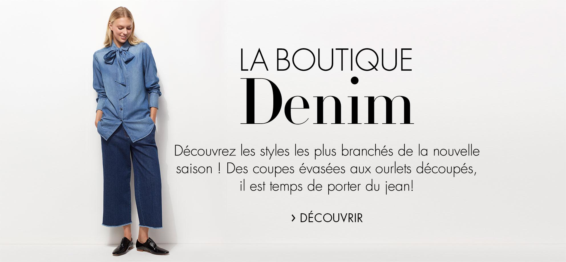 Boutique Denim : Nouveautés Jeans