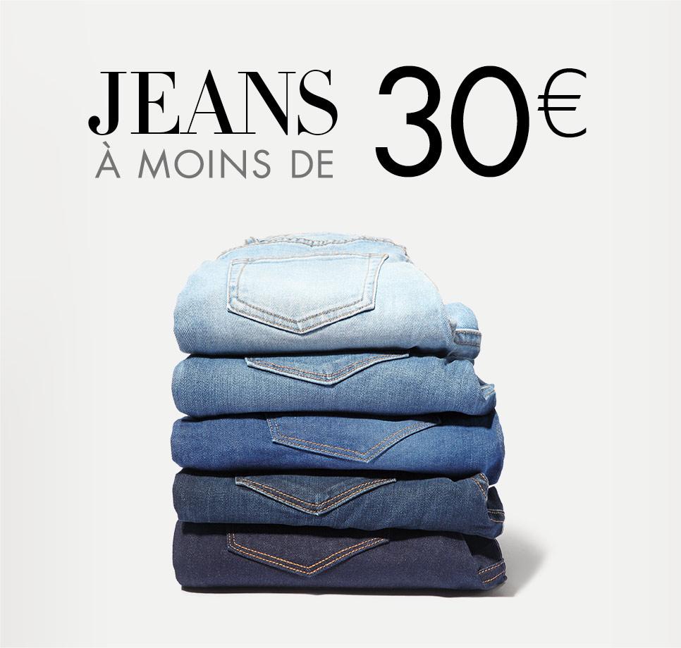 Jeans à moins de 30€