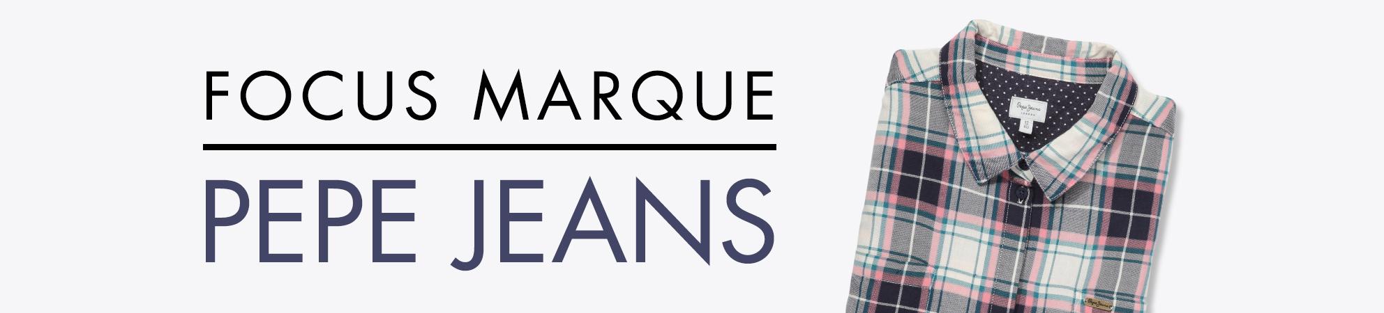 Focus Marque: pepe jeans