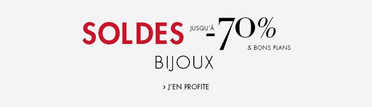 Soldes jusqu'à -70% Bijoux