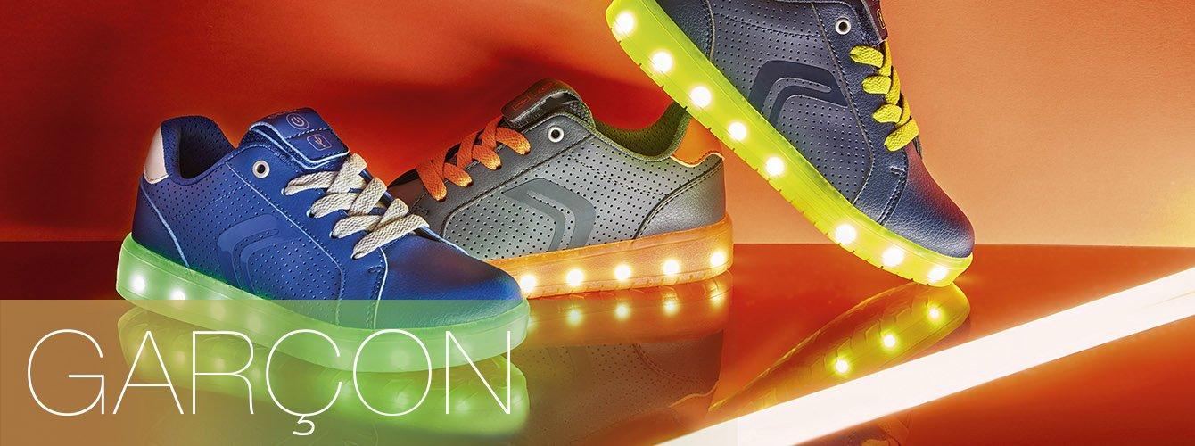 geox chaussures qui s'allument