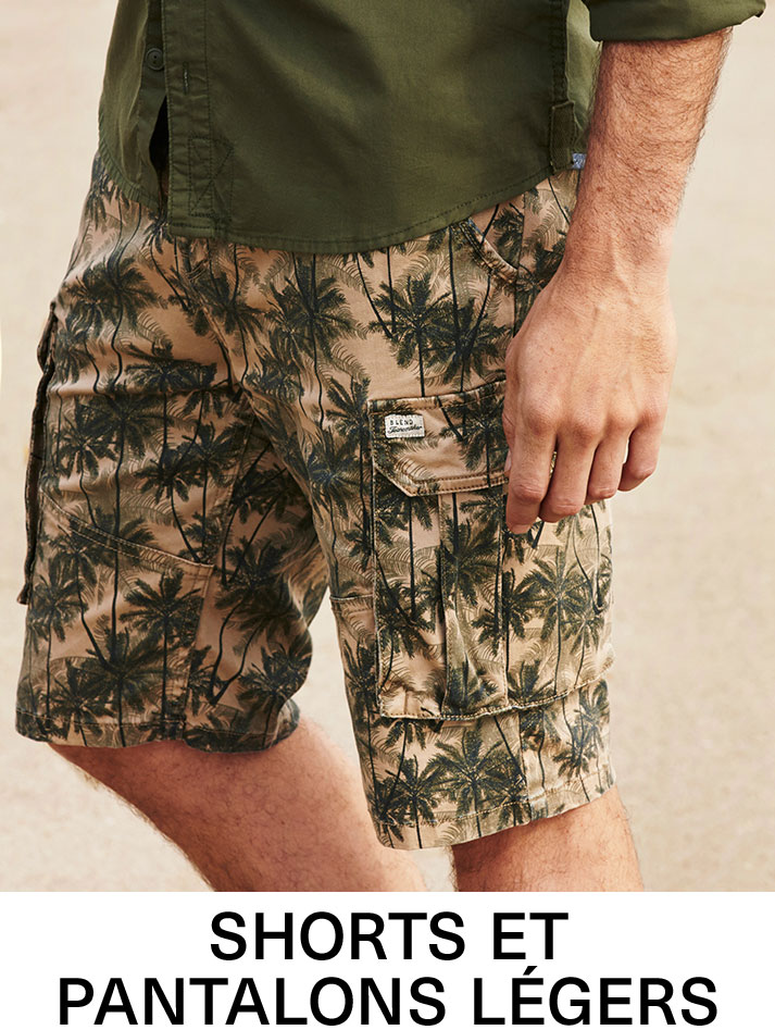 Shorts et pantalons légers