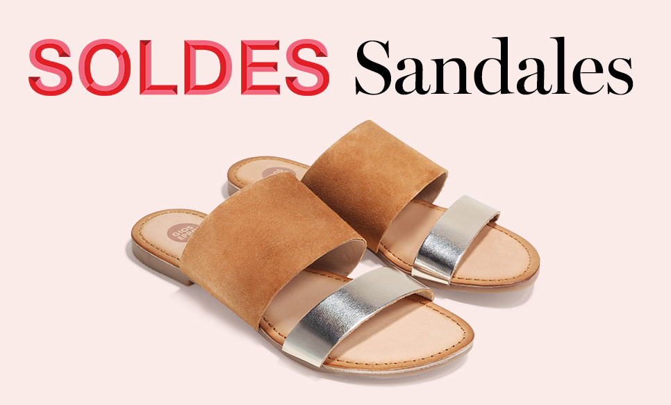 Soldes Sandales