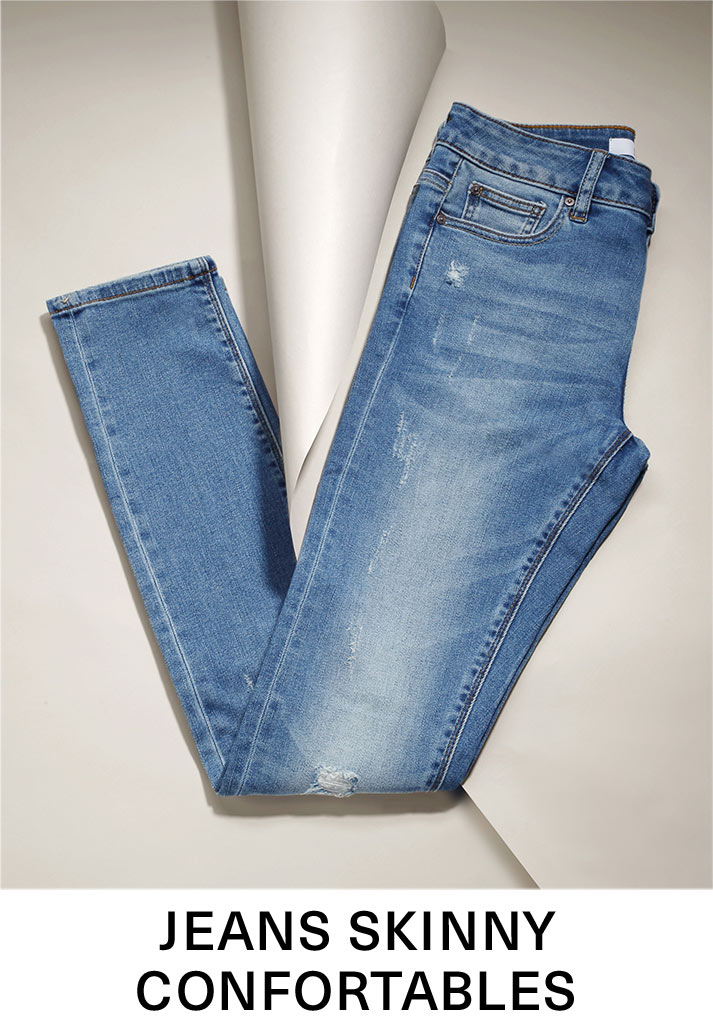 Jeans skinny confortables