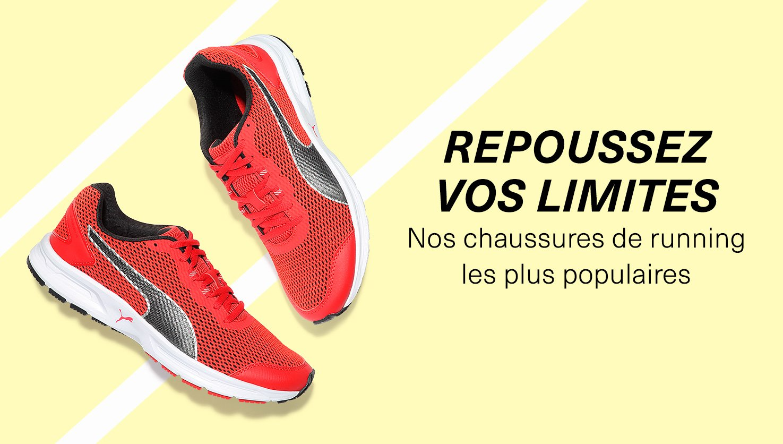 Chaussures de running les plus populaires