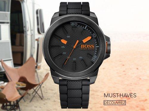 baskets pour pas cher 3df58 eb45d Amazon.fr : Boutique Montres Hugo Boss Orange : Montres
