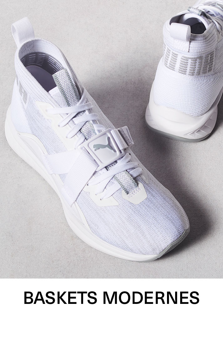 Baskets modernes