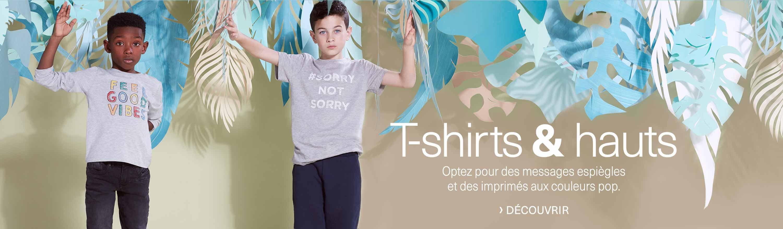 T-shirts et hautes