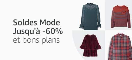 Jusqu'à -60% sur la mode