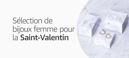 Sélection de bijoux femme pour la Saint-Valentin