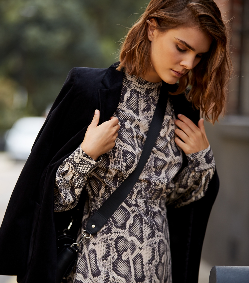 FIND Robe de soirée Femme