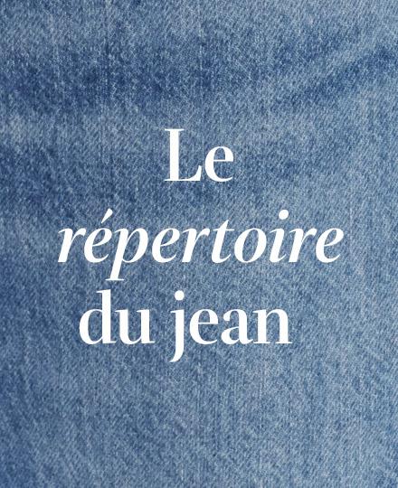 Le répertoire du jean