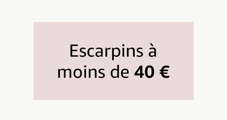 Escarpins à moins de 40€