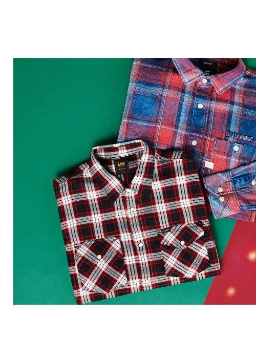 Chemises à carreaux pour hommes