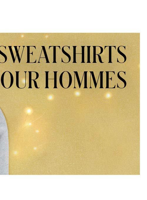 Sweatshirts pour hommes