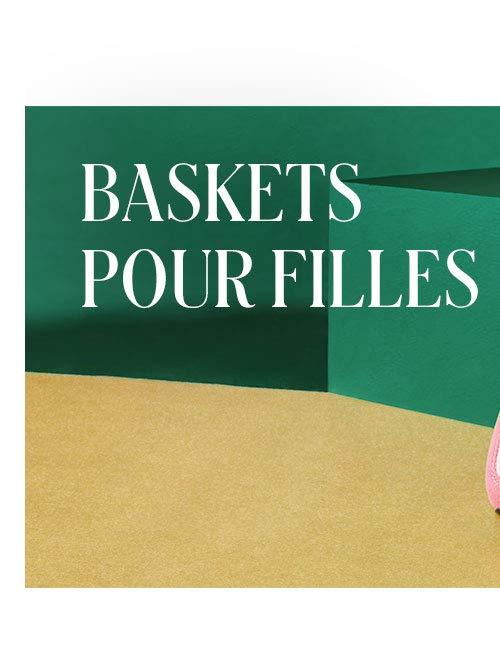 Baskets pour filles