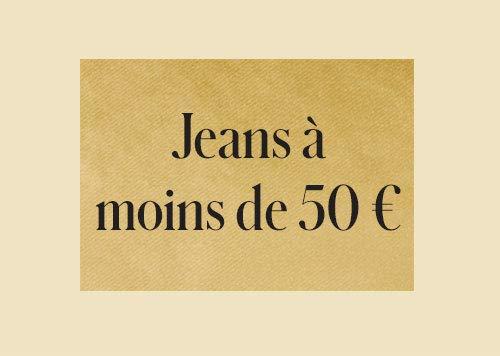 Jeans à moins de 50€